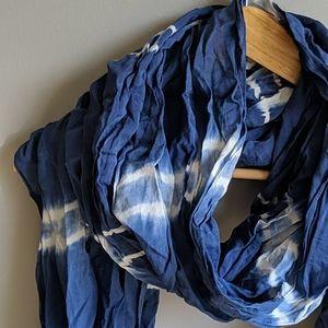 🌺AEO blue tie-dye scarf